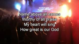 How Great Is Our God - Chris Tomlin (Best Worship Song with Lyrics)