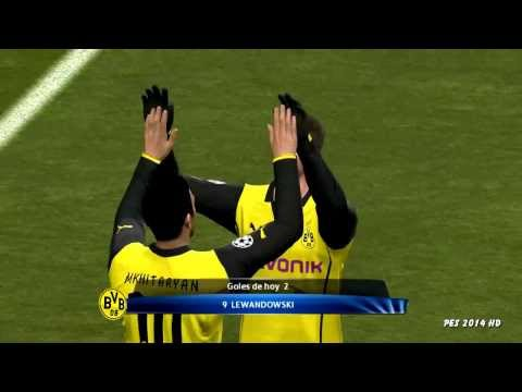 Zenit vs Borussia Dortmund 2-4 Full HD Pes Prediction
