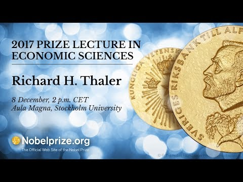 2017 Prize Lecture in Economic Sciences