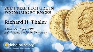 2017 Prize Lecture in Economic Sciences thumbnail