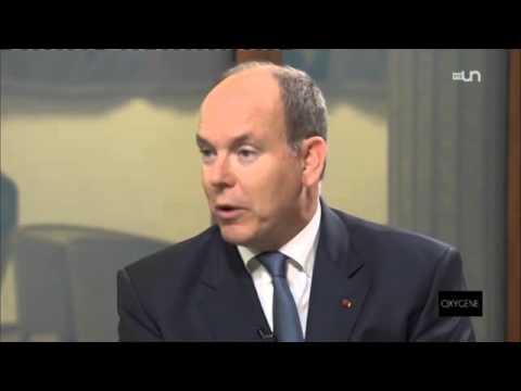 L'interview d'Albert de Monaco