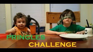 PRINGLES CHALLENGE! The WALL KIDS Try 17 Flavors!