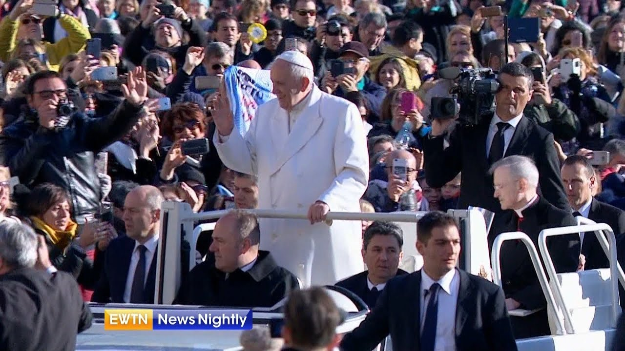 """Download Pope Francis Discusses """"Fake News"""" - ENN 2018-01-24"""