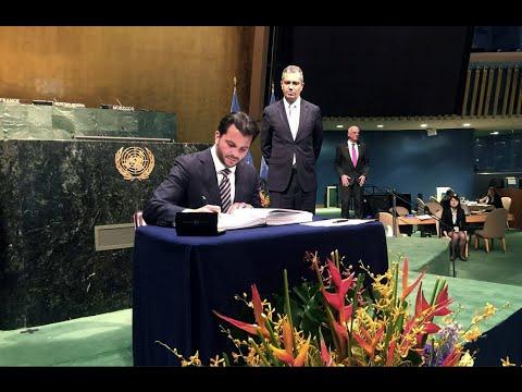 México refrenda ante Naciones Unidas el Acuerdo de París