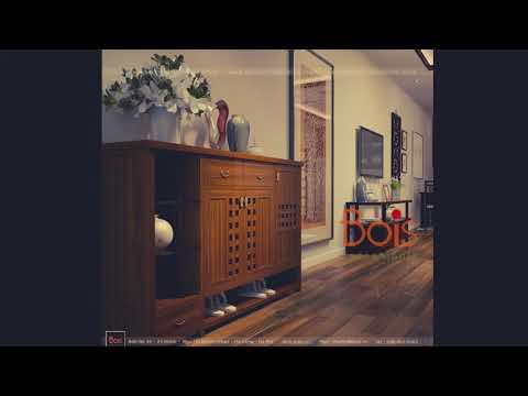 Thiết kế nội thất chung cư A10 Nam Trung Yên Theo phong cách kiến trúc Bois Indochinois bois com vn