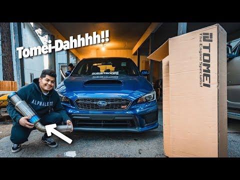 Unleashing The BEST Subaru Rumble!! (Tomei Expreme Ti)