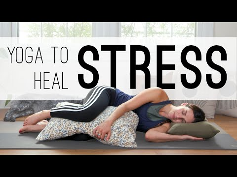 Yoga To Heal Stress | 20 Min. Yoga Practice | Yoga With Adriene