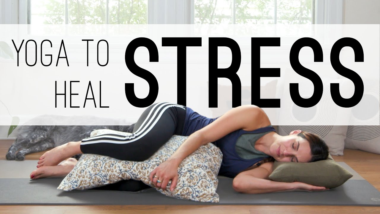 Download Yoga To Heal Stress  |  20 Min. Yoga Practice  |  Yoga With Adriene