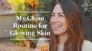 Skin-Care Routine For Glowing Skin In Whitney Leigh Morris's Tiny Home