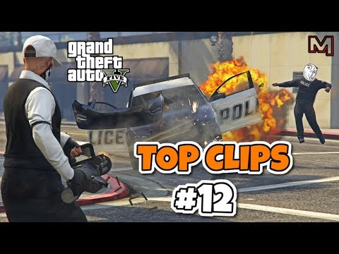 WINNER RECEIVES A PRIZE! TOP CLIPS OF THE WEEK #12 | GTA 5 ONLINE BEST CLIPS