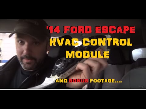 Ford Escape HVAC Control Module