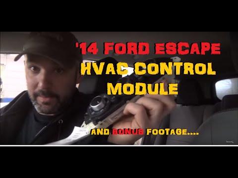 Ford Escape HVAC Control Module