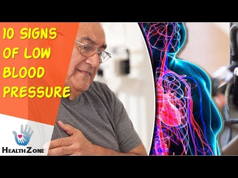 10 Signs of Low Blood Pressure