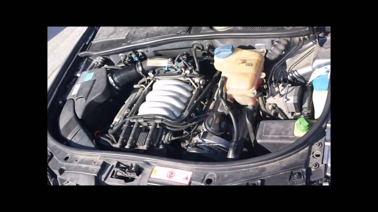 audi a6 c5 2 4 v6 quattro avant manual trans engine movement rh youtube com Audi A6 C6 2002 Audi A6 C5 Mods