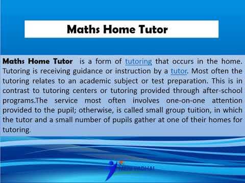 Maths Home Tutor In Delhi | Call - 1800-1230-133