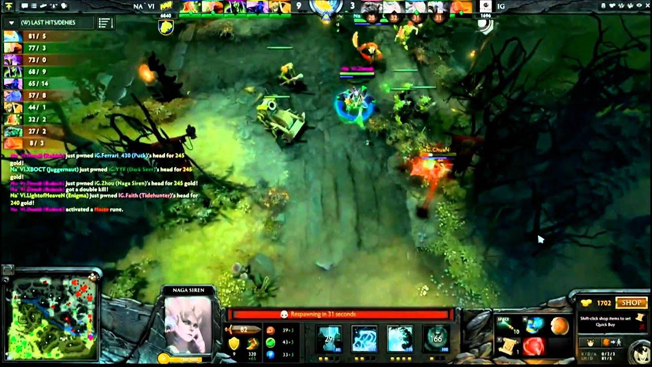 the play navi vs ig game2 youtube