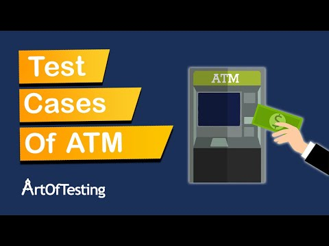 Test Cases for an ATM Machine - ArtOfTesting