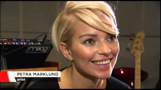 Petra Marklund about the fear of being alone (Nyheterna 2015) [SE]