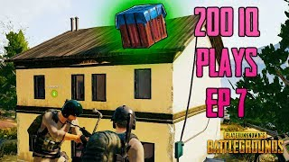 200IQ Amazing PUBG PLAYS EP 7 - Playerunknown's Battlegrounds Highlights