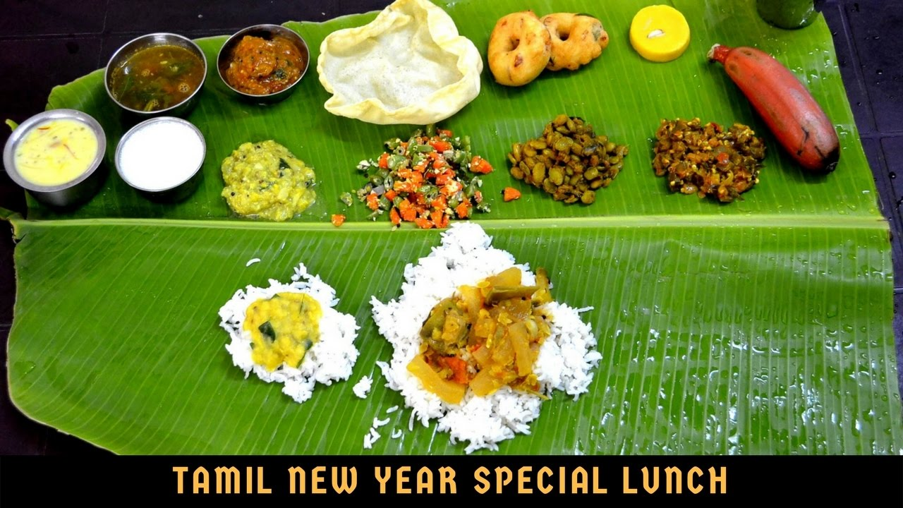 Special Vegetarian Lunch Menu In Tamil South Indian