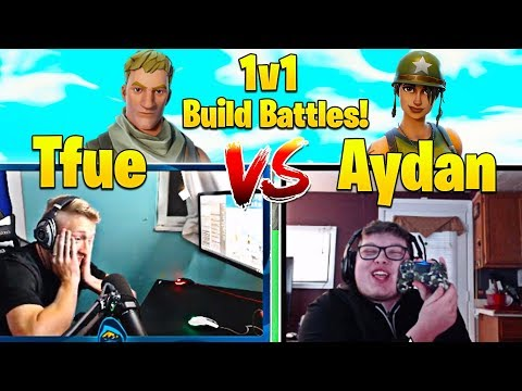 Ghost Aydan vs Tfue 1v1 Playgrounds! - Best Console Player DESTROYS PC World Champion