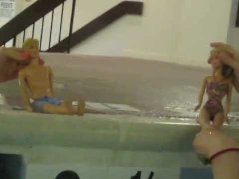 Barbie And Ricky Go To The Pool Doovi