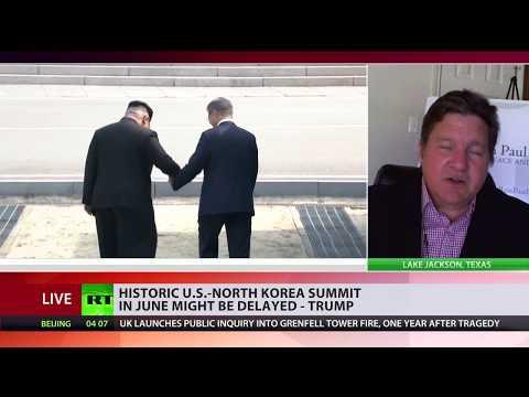 Washington confuses negotiation with surrender - Daniel McAdams on N.Korea talks
