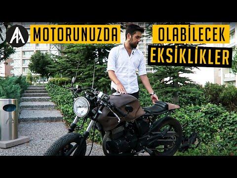 Motorla Bir Gün | Motorunuzda Olabilecek Eksiklikler