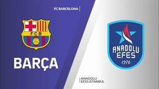 #EuroLeague 18. Hafta: FC Barcelona - Anadolu Efes