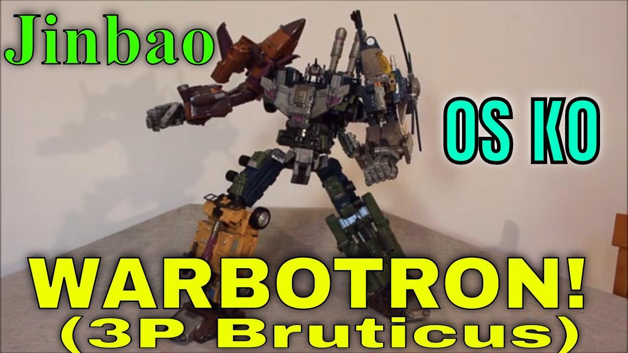 A Titanic Bruticus? Jinbao OS KO Warbotron Review By GotBot