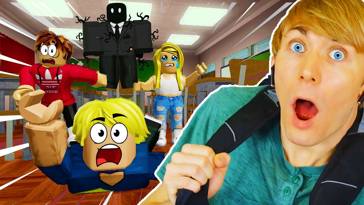 I Went Back to School - AND THIS HAPPENED!!! (Escape Roblox School Story)