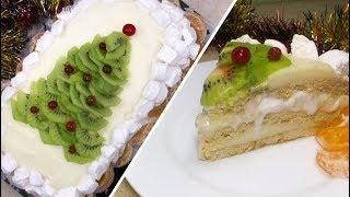 Торт Без Выпечки из Печенья для Праздничного Стола