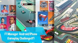 F1 Manager Challenge Gameplay#1 Android iSo