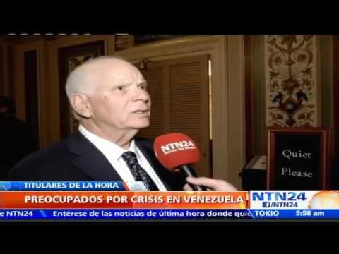 """""""Estamos interesados en restaurar la democracia en Venezuela"""": Senador estadounidense Ben Cardin"""