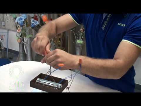 Как подключить люстру на двуклавишный выключатель