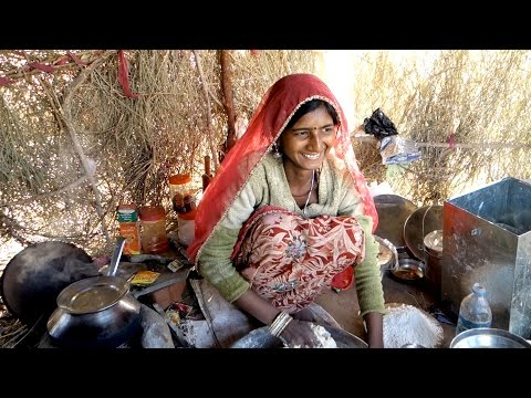 The Best Chapati / Authentic Recipe From A Gipsy Village, Rajasthan Desert / Indian Flat Bread, Roti