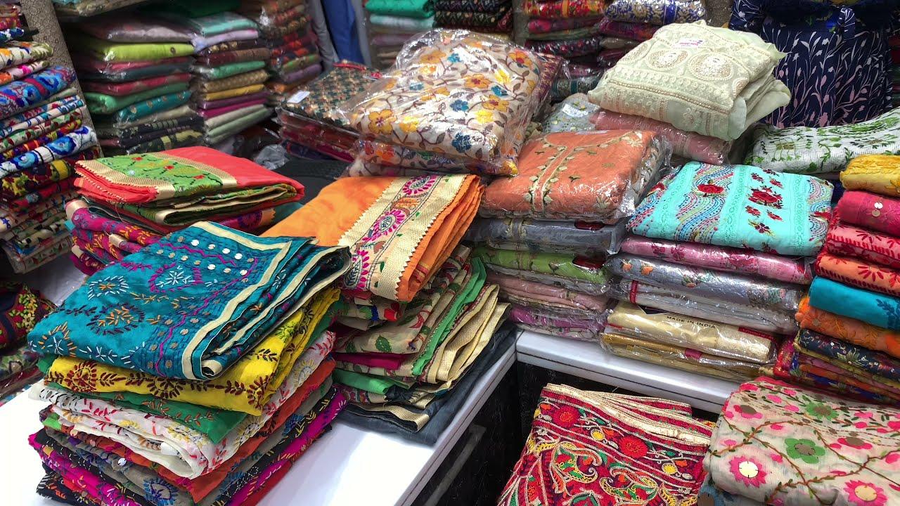 Download #Live अमृतसर से खरीदे फुलकारी दुप्पटे 75% Of पर ! Phulkari Dupatta,Suit Wholesale Market in Amritsar