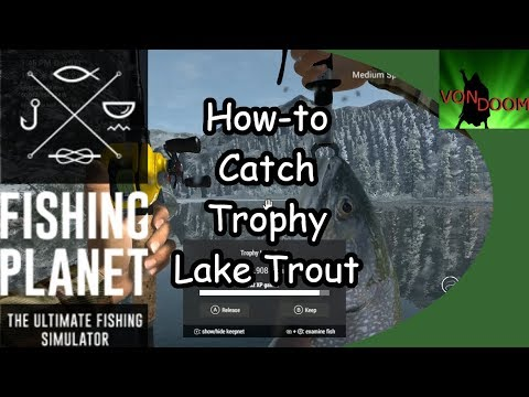 LAKE TROUT LIVE! fishing planet special Ep.