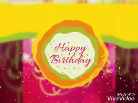 Happy Birthday Song. For Whatsapp Status In 30 Second