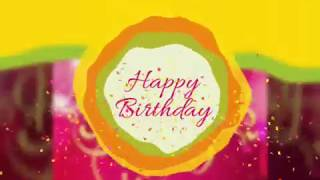 Gambar cover Happy birthday song. For whatsapp status in 30 second