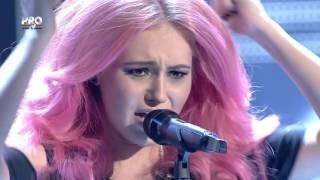 LARISA CIORTAN - NOTHING ELSE MATTERS - METALLICA - THE VOICE Romaniei
