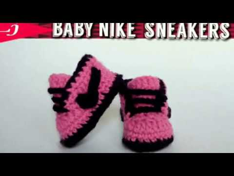 Want to learn how to crochet nike shoes? Easy crochet Nike Cortez Sneakers