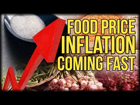 FOOD PRICE INFLATION IS COMING FAST - ARE YOU PREPARED?