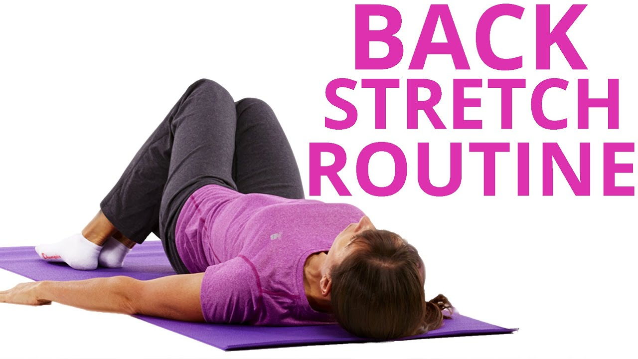 Lower Back Stretches for Back Relief (MORNING BED ROUTINE)