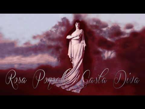 Casta Diva - Rosa Ponselle - 1919 / cleaned by Maldoror & with subtitles