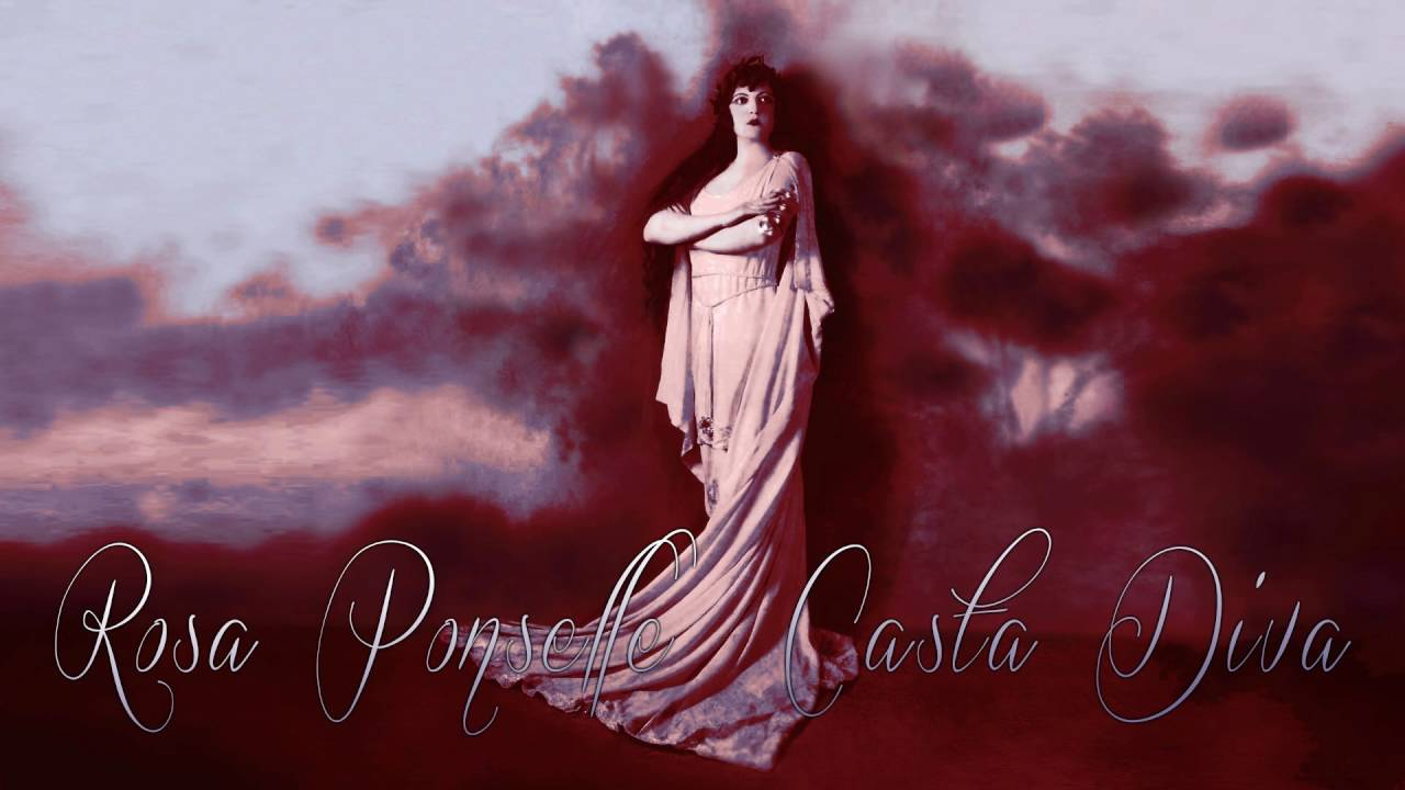 Casta diva rosa ponselle 1919 cleaned by maldoror - Casta diva aria ...