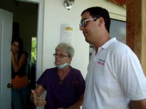 Interview with Karen at the clinic in Sosua, Dominican Republic