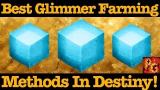 Destiny: Best Glimmer Farming Method In The Taken King!