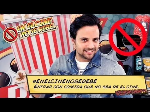 En El Cine No Se Debe - ENTRAR CON COMIDA DE AFUERA (Andrés Morales)