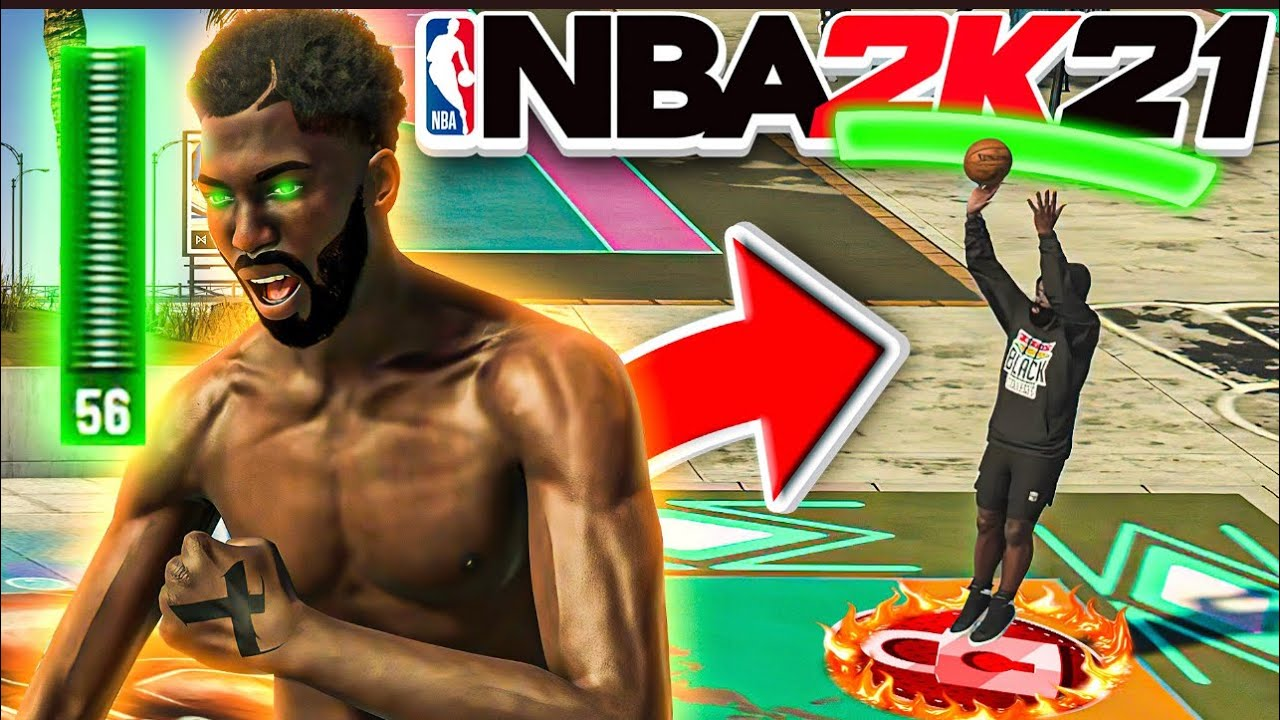 OVERPOWERED SHOOTING PURE LOCKDOWN DEFENDER IS A GLITCH IN NBA 2K21! BEST JUMPSHOT FOR LOW 3PT!